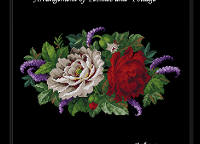Arrangement of Peonies and  Foliage