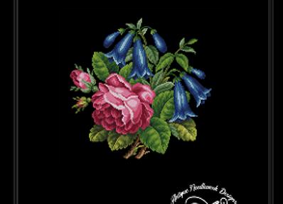 Roses and Datura stramonium Flowers