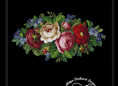 Assorted Roses Tapestry
