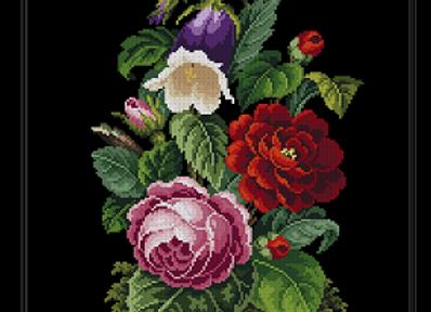 Victorian Floral Bouquet -1