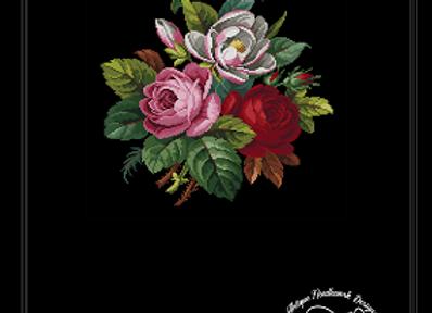 Magnolia and Roses Bouquet