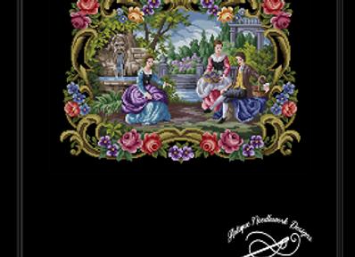 Victorian  Figural Romantic Scene