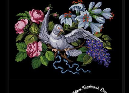 Berlin Floral Pigeon