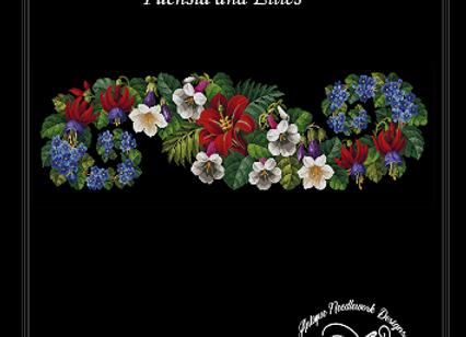 Fuchsia and Lilies