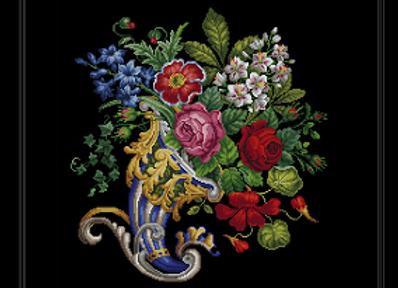 Floral  Cornucopia