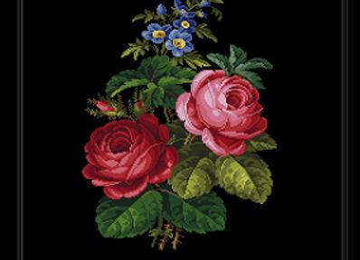 Antique Roses Bouquet