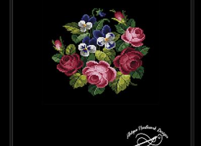 Violet & Roses