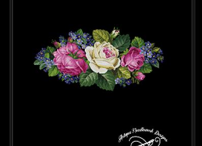 Oval Floral Bouquet