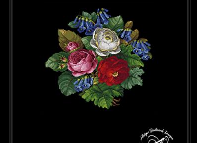 Roses &  Foxgloves