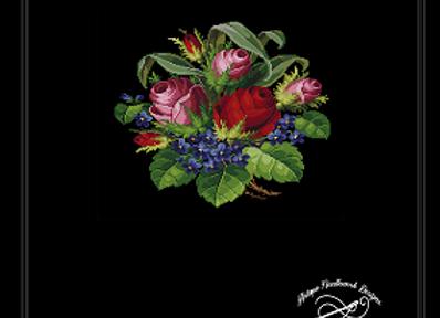 Rosebud &  Violets