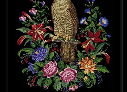 A Hawk Amongst Flowers
