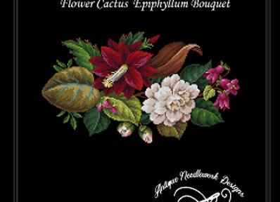 Flower Cactus  Epiphyllum Bouquet
