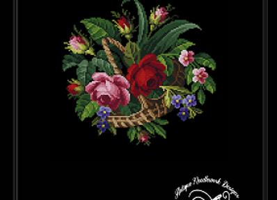 Berlin Floral Basket