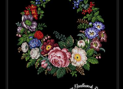 Berlin Floral Wreath