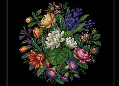 Antique Berlin Bouquet