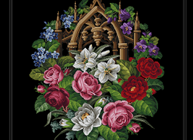 Victorian Gothic tapestry