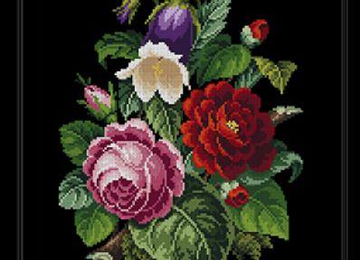 Victorian Floral Bouquet -2