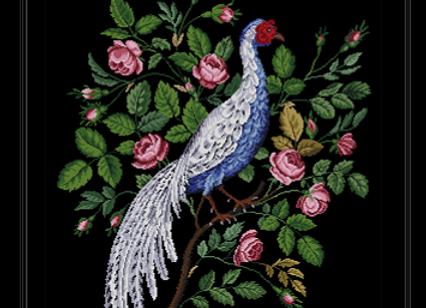 Antique Roses Silver Pheasant