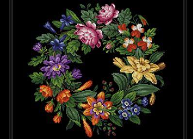 Antique Oval Bouquet
