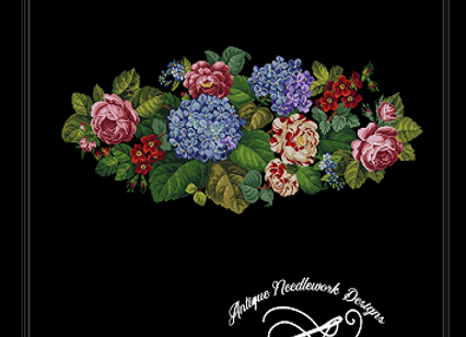 Antique Floral Tapestry