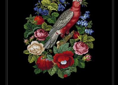 Parrot & Flowers