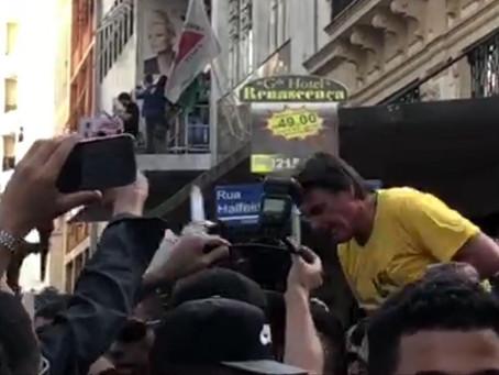 Agora é Bolsonaro