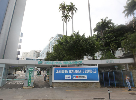 Bahia começa escalada de casos do coronavírus