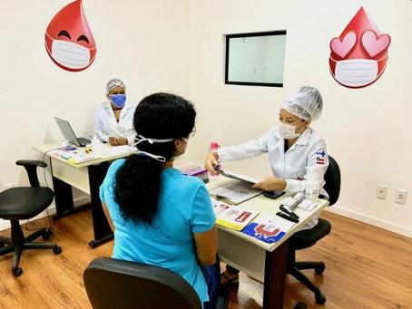 Hemoba abre unidade para coletar sangue no Salvador Norte Shopping