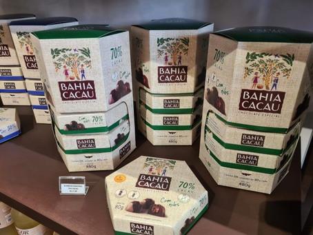 Cooperativa de agricultura familiar abre loja de chocolates finos em Feira