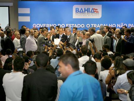 Rui reúne prefeitos para assinar convênios de 106 municípios
