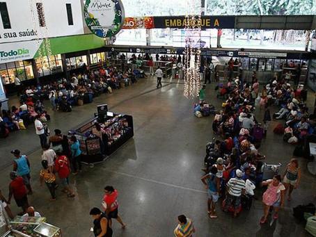 Rodoviária na capital terá 150 horários extras para o interior no 1º de maio