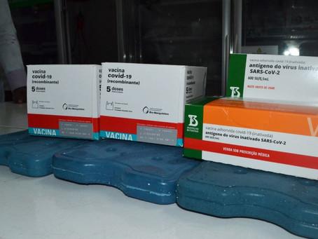 Feira recebe 13.640 doses para vacinar contra covid