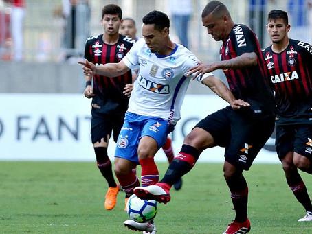Bahia frustra torcida com empate sem gols na Fonte Nova