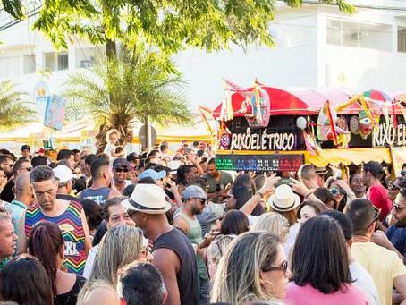 Esquenta da Micareta encheu a rua São Domingos de foliões