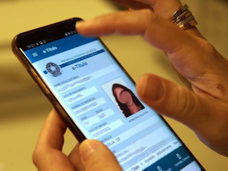 Ausência na eleição poderá ser justificada pelo celular