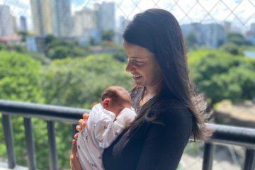 Filho de médica vacinada já nasceu imunizado contra a covid-19