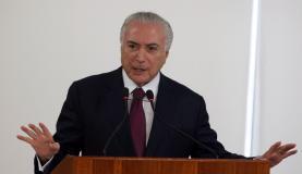 Temer libera R$ 1,2 bilhão para segurança do Rio de Janeiro