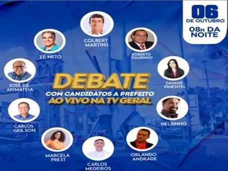 Candidatos fazem promessas e se revelam em debate