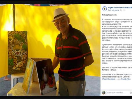 Polícia mata artista plástico idoso em Candeias e alega que ele apontou arma