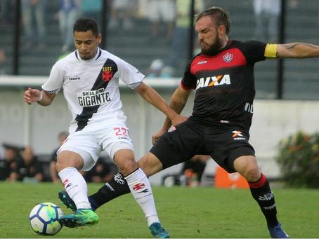 Vitória vai ao Rio e derrota o Vasco