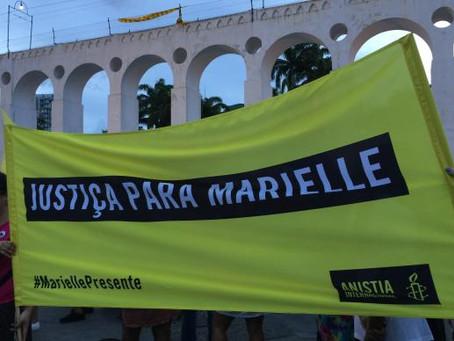 Manifestações lembram um mês da morte da vereadora Marielle Franco