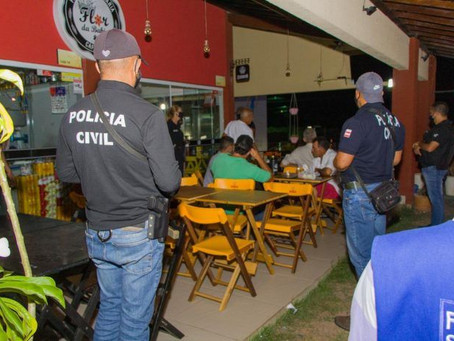 13 foram autuados por descumprir toque de recolher na Bahia