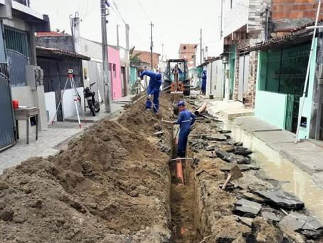 Ruas da região do Tomba passarão a ter esgotamento sanitário