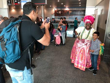 Aeroporto de Salvador recebe primeiro voo direto de Miami