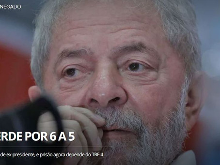 Moro surpreende e ordena prisão de Lula, que tem até amanhã para se entregar