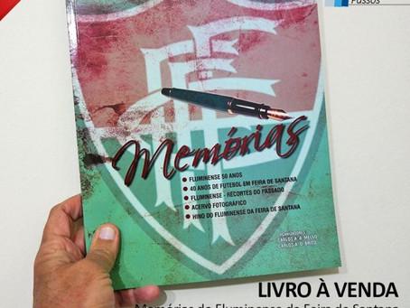 Livro sobre o Fluminense está à venda