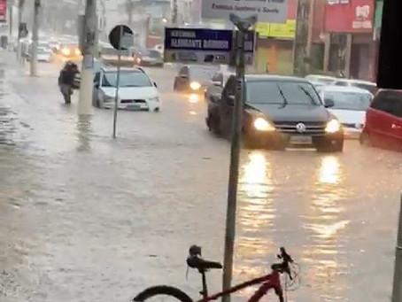 Nove cidades em situação de emergência devido à chuva