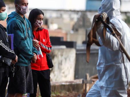 Bahia e Brasil batem recorde de mortos por coronavírus em um dia