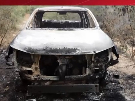 Polícia confirma que corpo carbonizado em carro é do delegado desaparecido