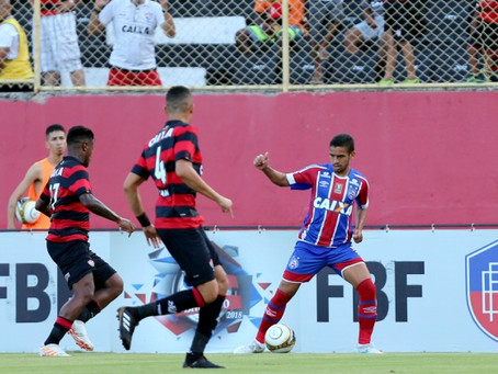 Bahia vence na casa do adversário e conquista o título baiano